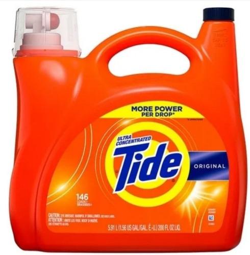 Detergente Tide 5900 Ml 146 Lavadas. - L a $16633