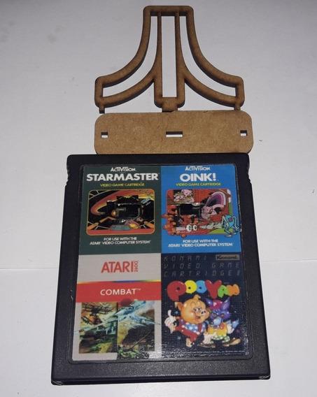 Oink! / Star Master / Combat / Pooyan4in1 Para Atari