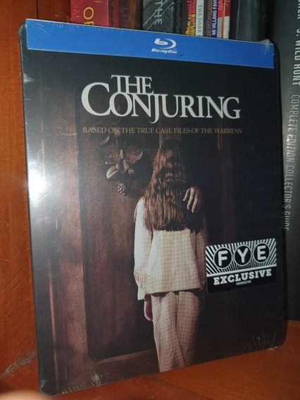 Steelbook The Conjuring 2013 El Conjuro Bluray Fye Exclusive