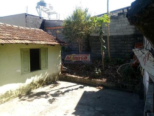 Terreno À Venda, 322 M² Por R$ 350.000,00 - Vila Flórida - Guarulhos/sp - Ai13478
