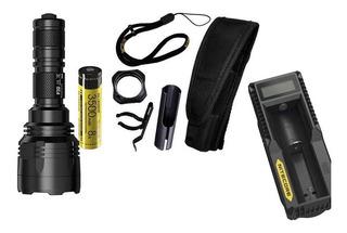 Lanterna Tática Nitecore P30 1000 Lumens 618m Kit Completo