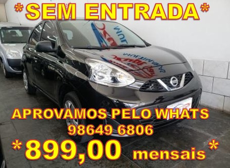 Nissan March 1.0 12v S 5p - Trabalhe Na Uber
