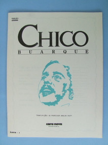 Partitura Violão: Chico Buarque, 3 Volumes + Brinde