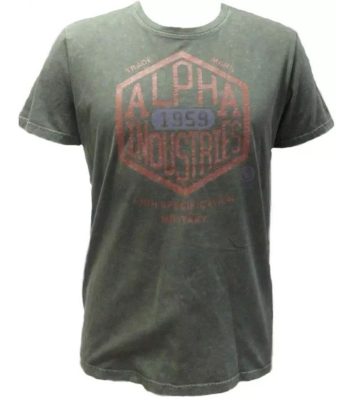 Remera Super T Alpha Industries