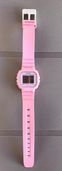 Relógio Casio Original Feminino Digital Rosa