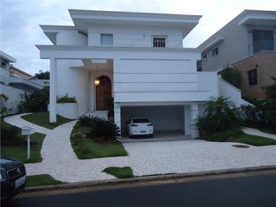Casa Com 3 Dormitórios À Venda, 450 M² Por R$ 2.500.000 - Alphaville Dom Pedro - Campinas/sp - Ca5452