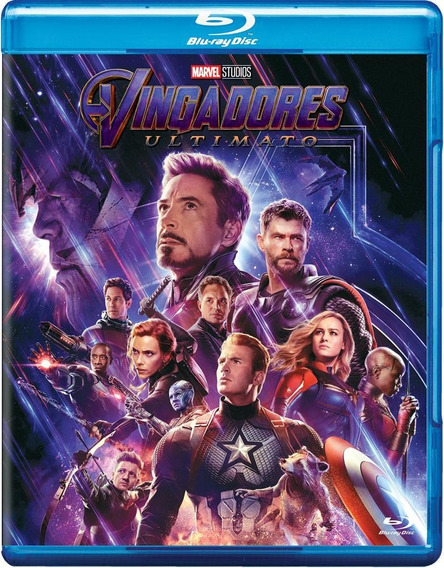 Vingadores - Ultimato - Blu-ray