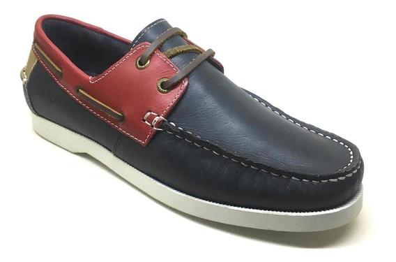 Sapato Masculino Samello Loop Smooth Marinho
