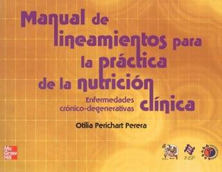 Mnl De Lineamientos Para La Práctica De La Nutrición Clínica