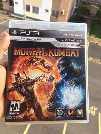 Mortal Kombat 9 Semi Novo Ps3 Midia Fisica Frete Gratis