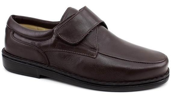 Sapato Masculino Opananken Antistress 35513 Marrom Pixolé