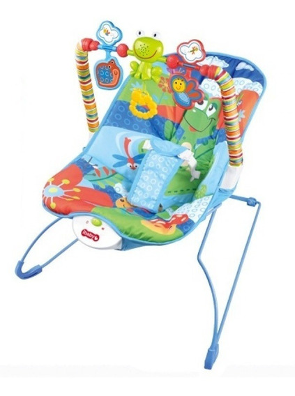 Silla Mecedora Bebe Deluxe 0 A 11 Kg Cici Babymovil Full
