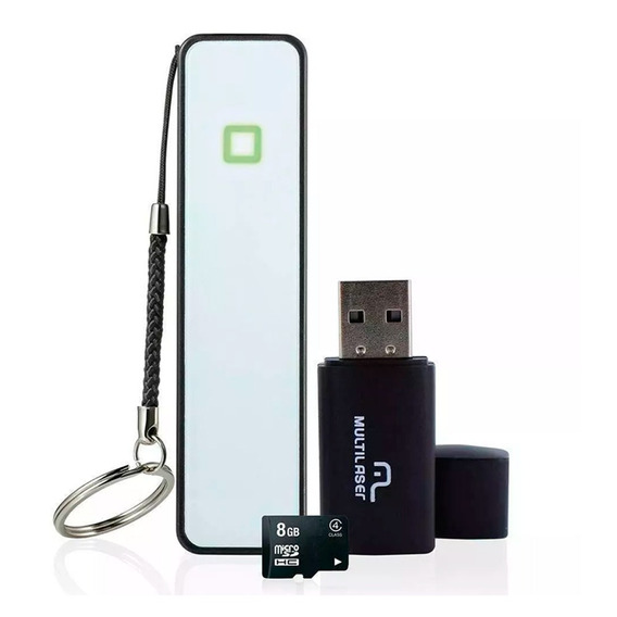Kit Smartphone Multilaser Mc200 Power Bank Micro Sd Pendrive