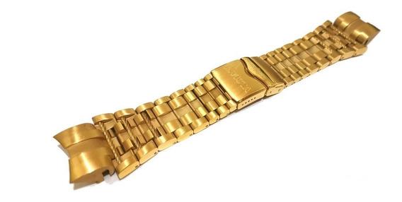 Pulseira Invicta Bolt Zeus Aço Dourada