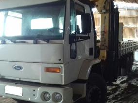 Ford Cargo Munck 2425 / G-vetec Modelo Gv -25200