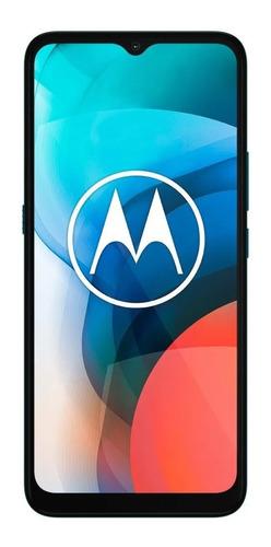 Imagen 1 de 4 de  Moto E7 32 GB azul aqua 2 GB RAM