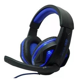 Fone De Ouvido Headset Gamer Knup Kp396 Com Microfone Ótimo