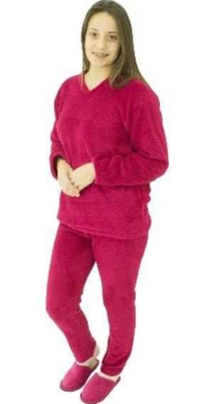 2 Pijama Feminino/masculino Pluch Soft Saída Banho Banheira