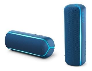 Parlante Sony Extra Bass Srs-xb22 Portátil Inalámbrico Azul