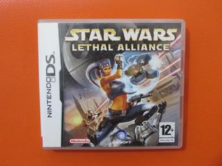 Star Wars Lethal Alliance Original Nintendo Ds