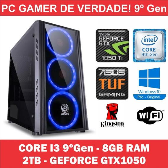 Pc Gamer Win10 Orig + Core I3 9ºgen + 8gb + 2tb + Gtx 1050
