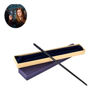 Varita Ginny Weasley Harry Potter 35 Cm Centro Metalico