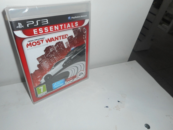 Need For Speed Most Wanted A Criterion G. Ps3 Física Lacrado