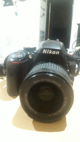 Nikon D3300 18-55 Vr + Bolso 9000 Disparos.