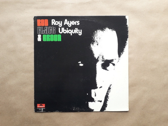 Lp Roy Ayers Ubiquity Red Black And Green Original Usa 1973