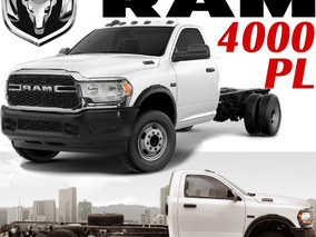 Ram 4000 Pl V8 Hemi 5.7l Mt 5vel Chasis Largo 3.5ton Arh