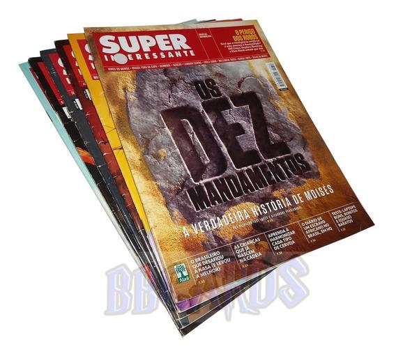 Revista Super Interessante 6 Volumes Edição Assinante