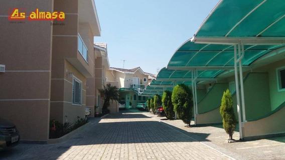 Sobrado Condomínio Fechado - Com 3 Dormitórios À Venda, 90 M² Por R$ 480.000 - Jardim Vila Galvão - Guarulhos/sp - So0171