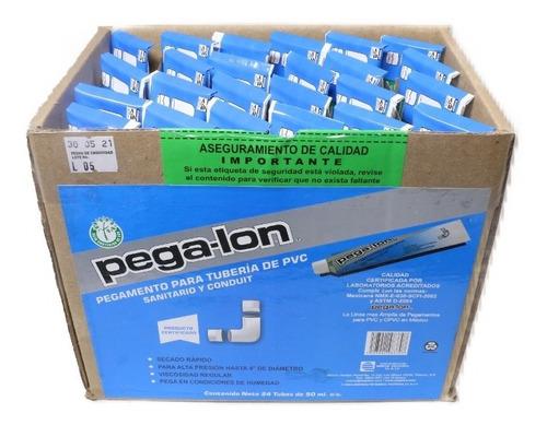 Imagen 1 de 4 de Pegalon - Cemento Pvc Conduit Caja Con 24 Tubos De 50 Ml