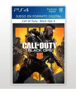 Call Of Duty: Black Ops 4 Digital Deluxe Ps4 / 1°/ En El Día