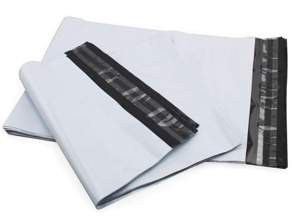 Embalagem Plástica Lacre Sedex Correio Saco 26x36 100 Un