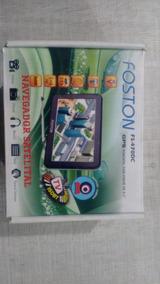 Gps Foston Fs-470dc Com Tv E Entrada Avi, Usado