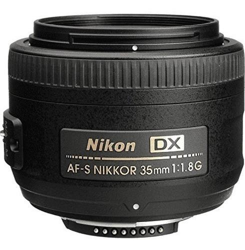 Lente Nikon 35mm F/1.8g Af-s Autofoco Pro