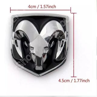 Insignia Dodge 4,5 X 4 Cm