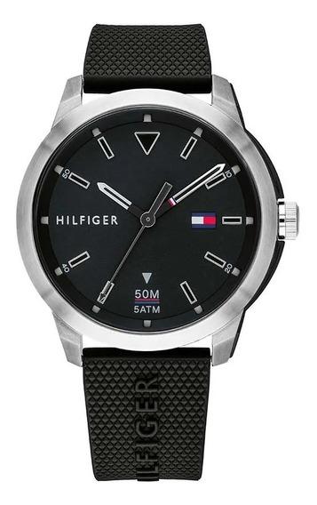 Reloj Tommy Hilfiger Hombre Sneaker 1791622 Negro