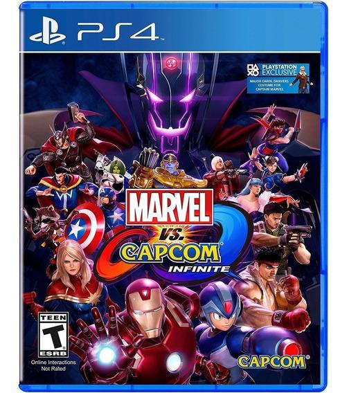Marvel Vs. Capcom: Infinite - Ps4 Lacrado