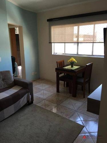 Apartamento À Venda, 59 M² Por R$ 270.000,00 - Paulicéia - São Bernardo Do Campo/sp - Ap2070