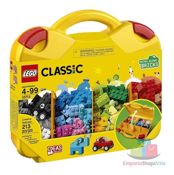 Lego Classic Original Modelo 10713 Creative Suitcase
