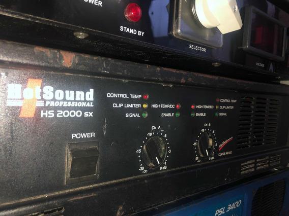 Amplificador Potência Hotsound Hs2000sx
