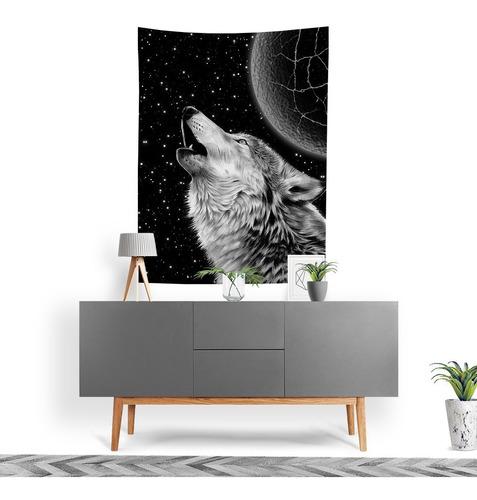 Tecido Decorativo Decoração Tactel Interto Externo Wolf