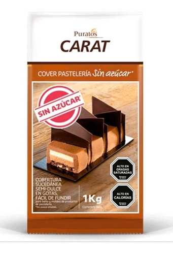 Chocolate Sin Azúcar Carat 1kg