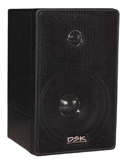 Caixa De Som Acústica Música Ambiente Para Casa Ou Comercio