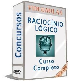 Curso Raciocínio Lógico Para Concursos 10 Dvds Completo A21