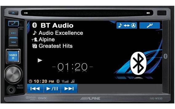Alpine Ive-w530+gps Apontador + Cam. Ré + Desbloqueio Tela.