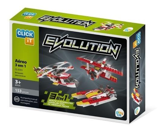 Blocos De Montar Click It Cis Evolution 3 Em 1