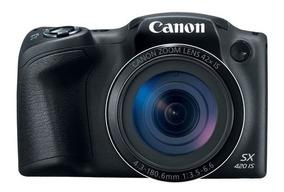 Camera Canon Powershot Sx420 + Tela 3p + Wi-fi / Nfc Origina